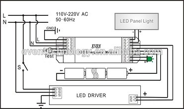 Led Downlights Wiring Diagram For Led Downlights