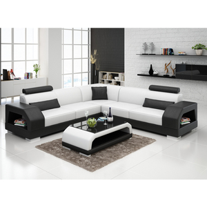 online shopping china home furniture sectional leather 5 seater sofa set