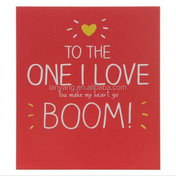 Happy Birthday QuotTo The One I Lovequot Card Greeting Girlfriend