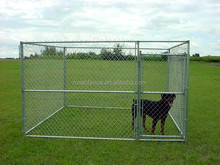 5'x10'x6' big dog house clamp connector dog runs solid roof dog kennels