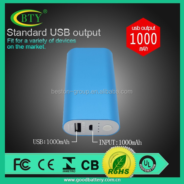 Manufacturer Wholesale Mobile Power Bank 5200mah, Rechargeable Power Bank