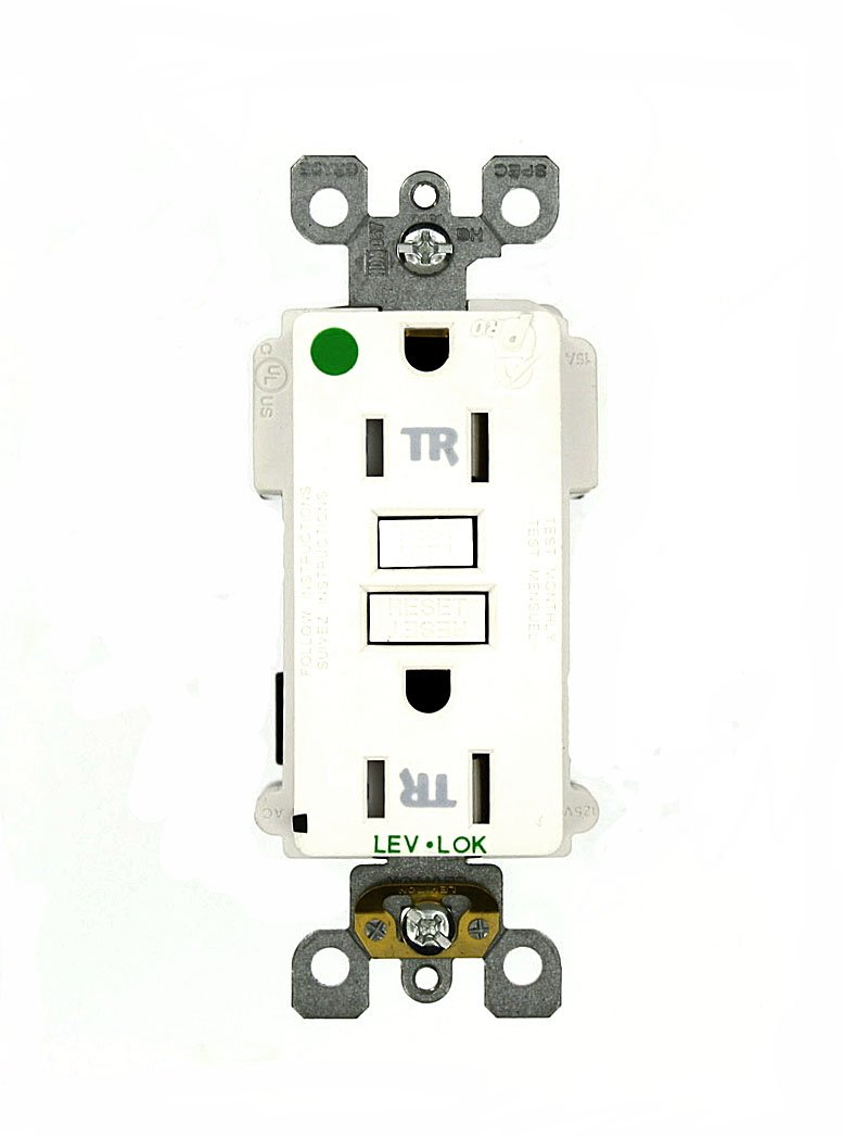 Cheap Hospital Grade Wiring Find Deals On Leviton Devices Get Quotations Mt759 Hgw Lev Lok Modular Device 15 Amp 125 Volt