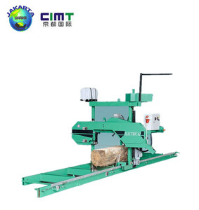 mini Horizontal band saw wood cutting machine