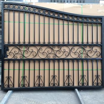 Portes En Fer Forgé De Jardin En Métal Porte D\'arche - Buy Portes De  Jardin,Portes Métalliques En Fer Galvanisé,Porte Simple En Fer Forgé  Product on ...