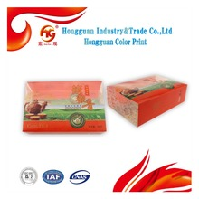 PP eco-friendly customized packs folding tea box