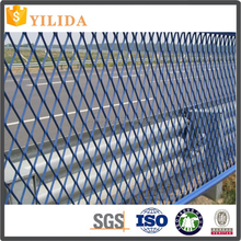 plastic coated expanded metal mesh for fencing