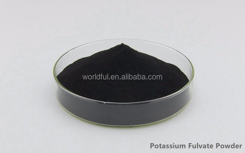 Garden fertilizer Good appearance product potassium fulvate suppliers Humic acid 60%-70% Powder Potassium fulvate fertilizer