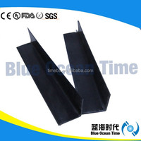 Black ESD L plastic edge for corrugated pp box