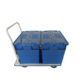 150kgs Foldable Easy Hand Push Plastic Dolly Cart