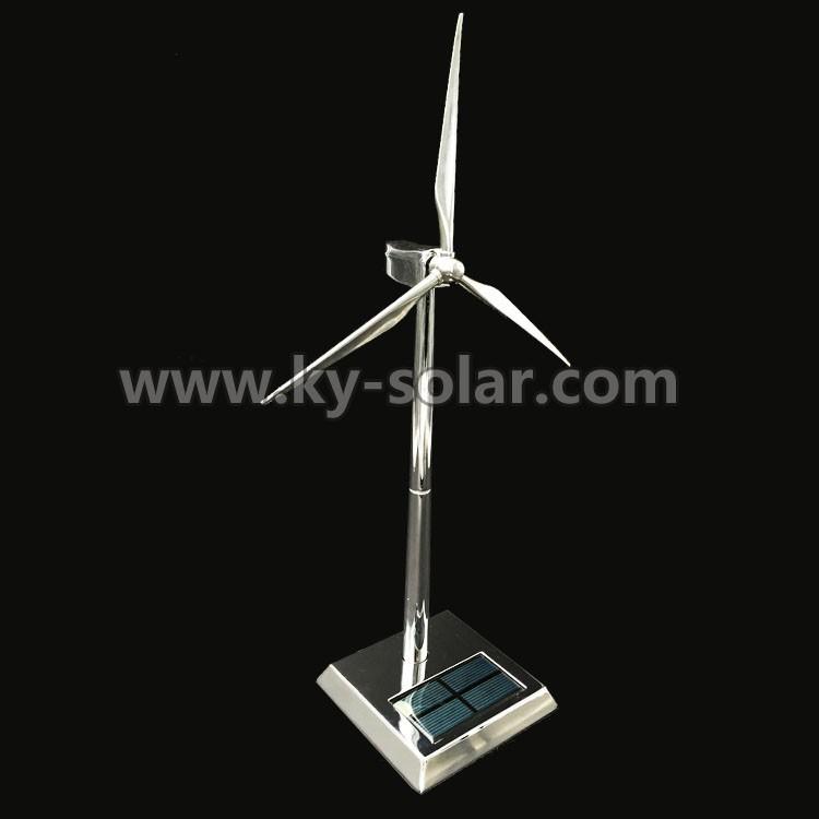 Customized business gifts mini wind turbine Solar Windmill model