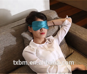 hot sell sexy 100% pure silk eyemask