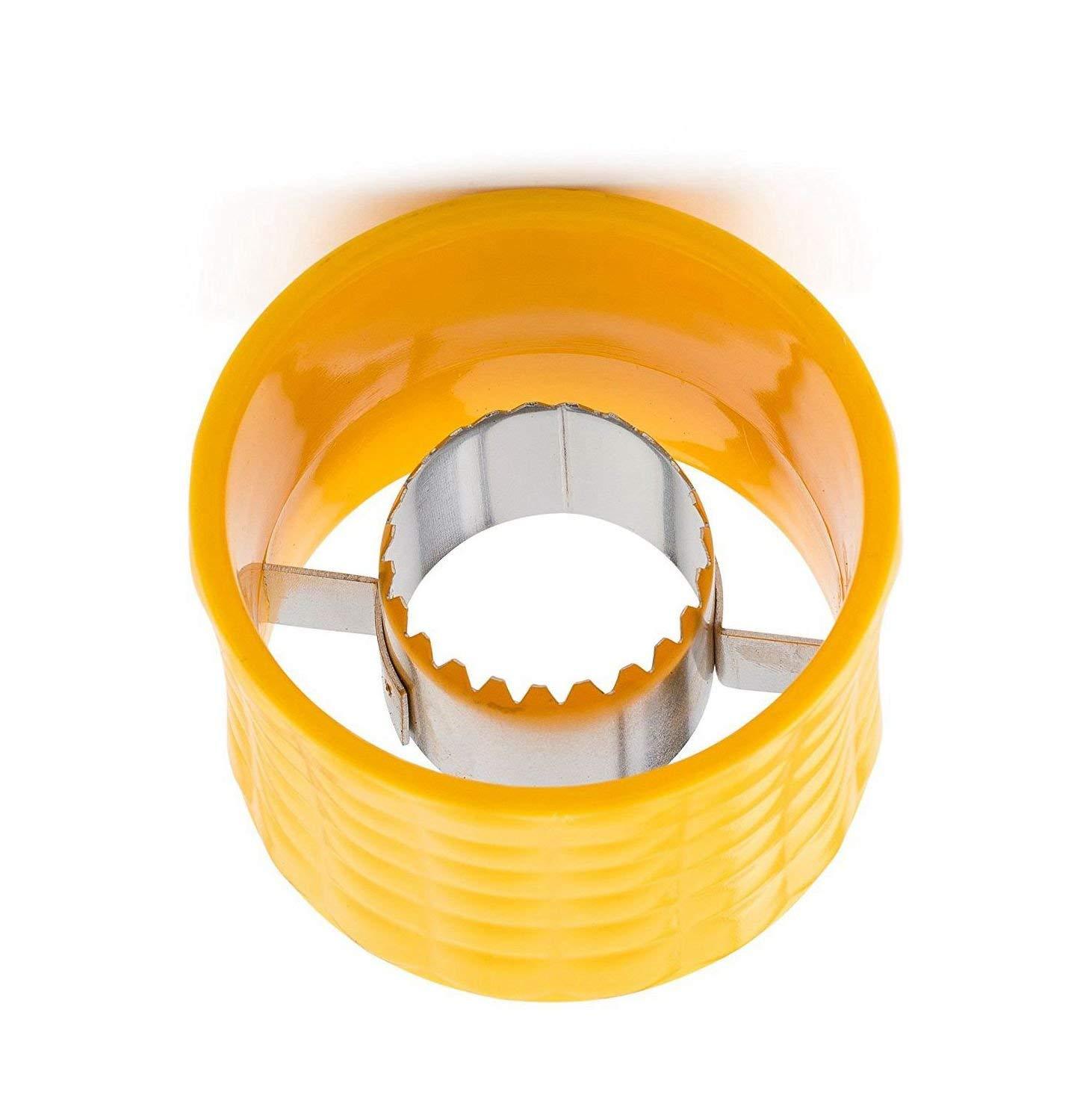 Cob Corn Stripper, Corn Stripping Tool, Manual Circular Threshing Creative Home Kitchen Gadgets