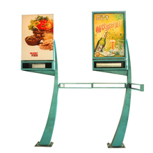 Cheap aluminum advertising rectangle outdoor standing signboard