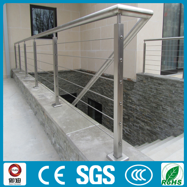 Outdoor Lowes Price Square Deck Stainless Steel Cable Railings ...