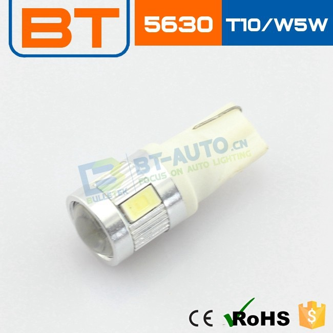 Cheapest Price T10 Ba9s 5smd 5630 LED T10 5SMD