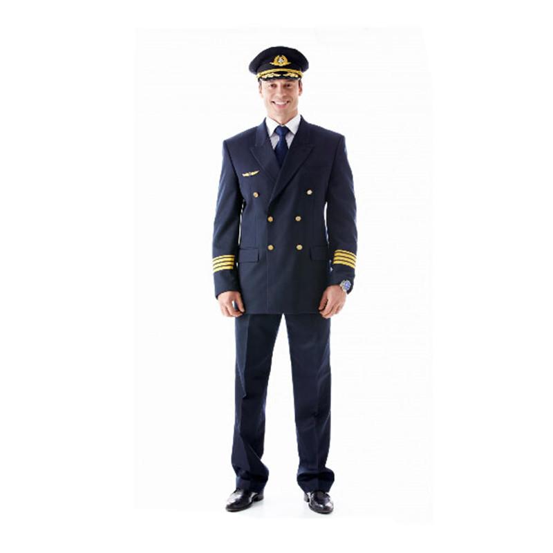 Airline pilot military uniform for men