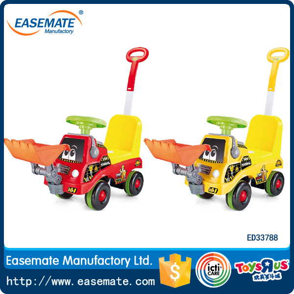 kids ride on cars toys vehicle with push handle