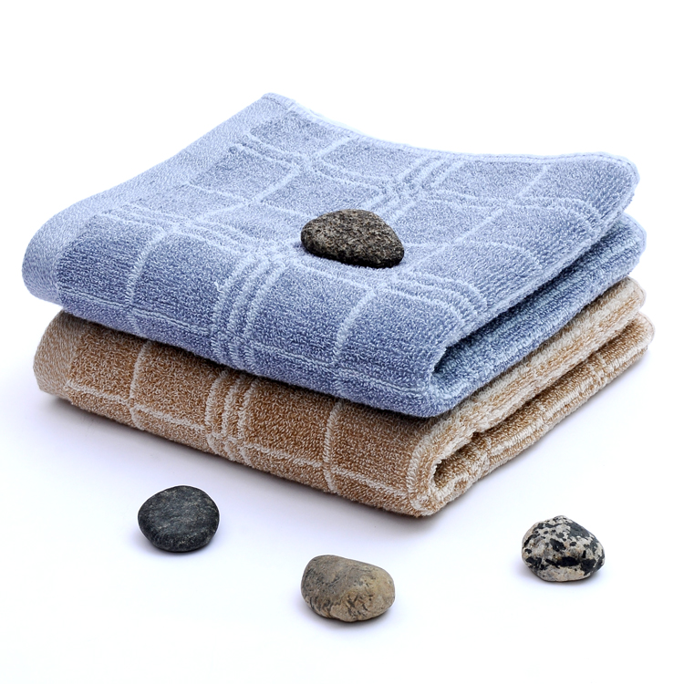 2016 new design China supplier sirospun 100 cotton face towel