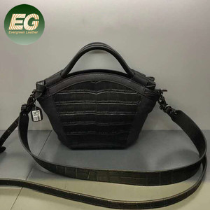 ee29d33208d9 Ladies fashion crocodile embellished pattern print handbag crossbody bag  EMG5477