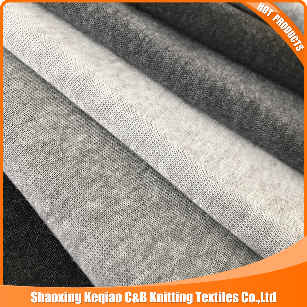 Melange yarn fleece with antipilling for Middle East market