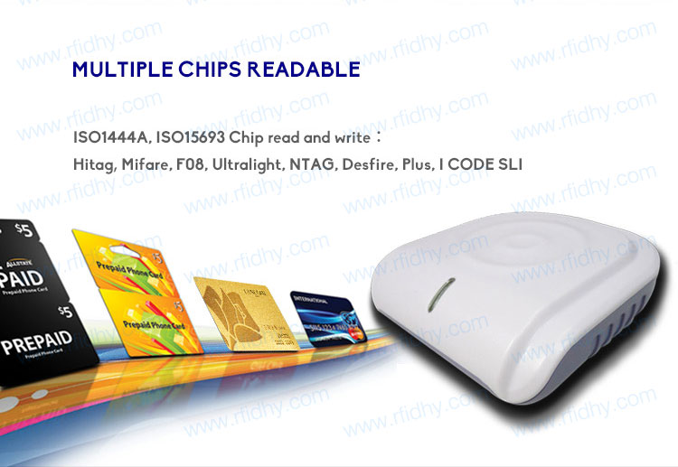 HY-R530 USB/RS232/TCP/IP Interface Contactless Desktop RFID Reader