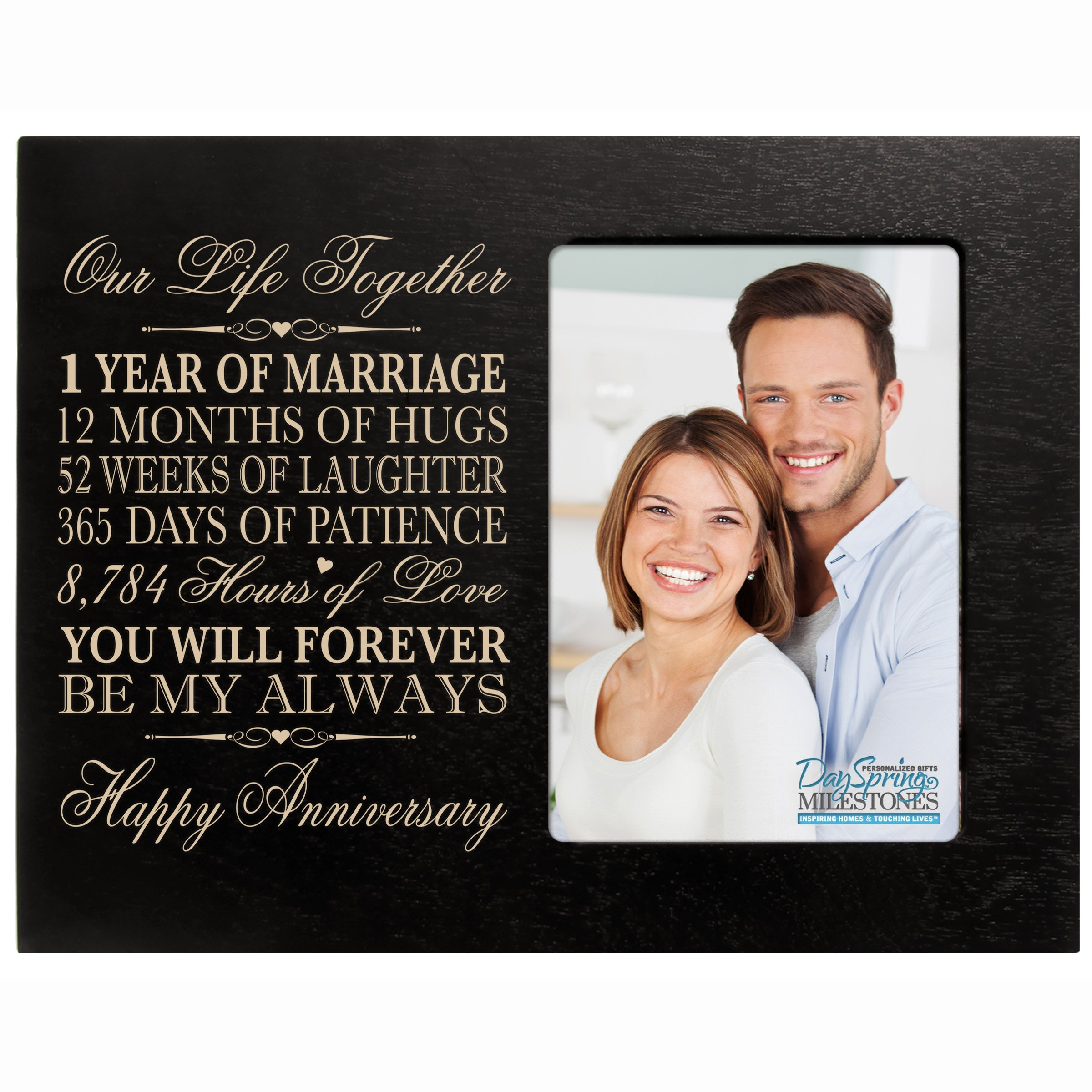 Buy One Year Anniversary Gift Her Him Couple Custom Engraved 1st