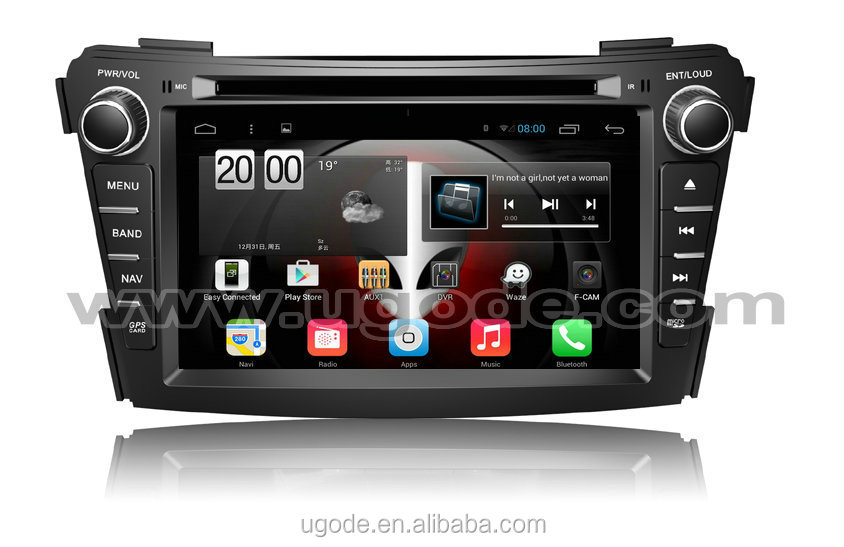 ugode wholesale U9 Android 4.4 6.0 Car Radio wifi 3G HD Touch screen for Hyundai i40 Car Radio