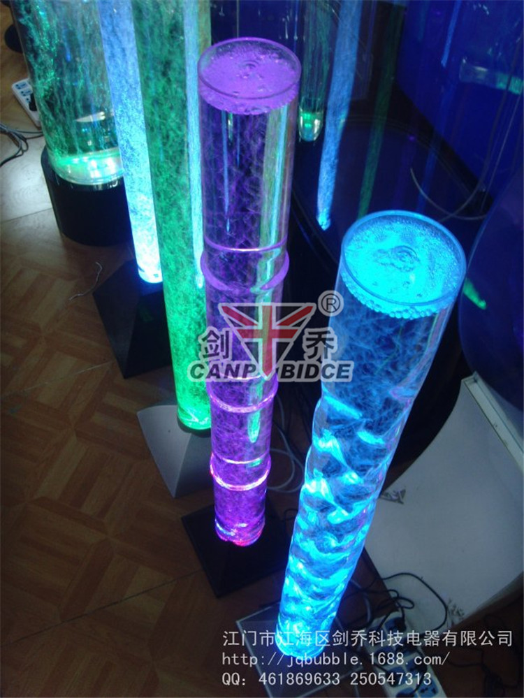 Interior Decorating Ideas Bamboo 10mm Acrylic Tube Bubble Modern ...