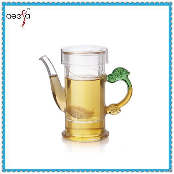 excellent houseware thermal tea pot transparent color