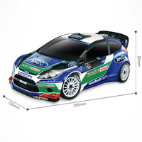 Licensed Radio Control Car Toys Scale 1:16 R/C Ford Fiesta WRC