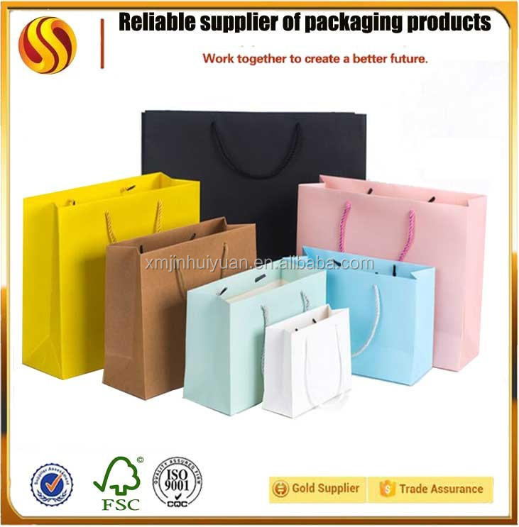 3775e5aed0ed China Paper Bag Maker Newborn Baby Cloth Packing A4 Size Paper Bag ...