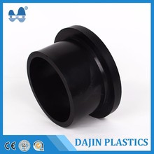 Butt fusion casting hdpe pipe universal stub end flange