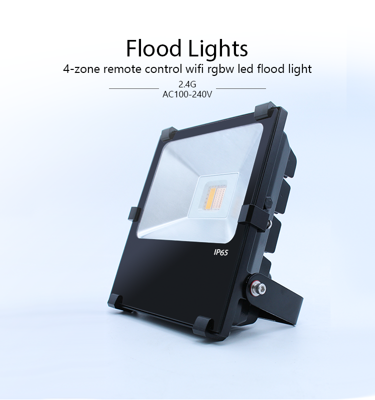 Colorful 20W RGB LED Flood Light Landscape Lamp rgb led floodlight with meanwell driver yard /garden/building lighting