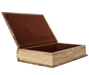 Decorative Secret Space Large Fake Book Box Storage Box With Sewing Design