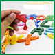 26Pcs Alphabet Funky Fun Colorful Refrigerator Magnet Sticker Letters A-Z Wooden Fridge Magnets Kid Education Toys