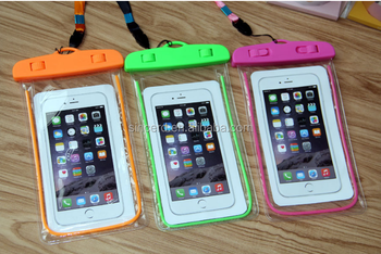 Outdoor Travel Waterproof Cell Phone Bag Mobile Neck Pouch Fancy Pouches