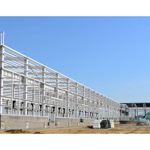 Steel structure shopping mall custom production large span steel structure warehouse