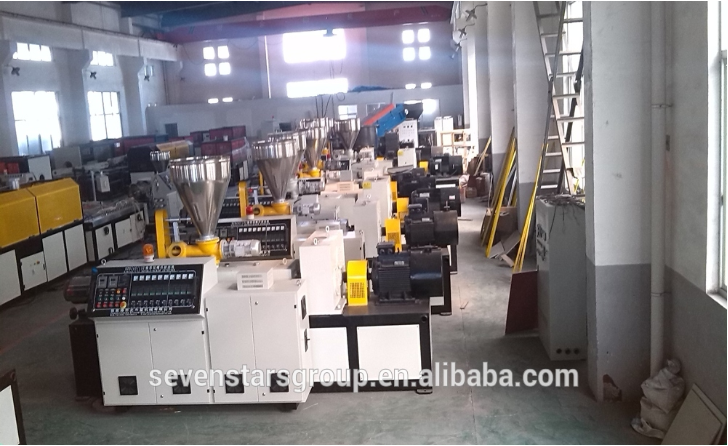 pvc plastic electric pipe extruding manufacture machine india