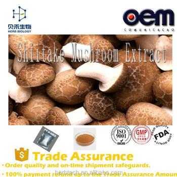 Shiitake Mushroom Extract/dried Shiitake Mushroom Powder /beta D Glucan  30%-50% - Buy Shiitake Mushroom Extract,Dried Shiitake Mushroom Powder,Beta  D