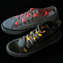 Factory Price Fashion Design Accessory Festival Party Holiday Gift Items Cheap LED Flashing Glowing Shoelace