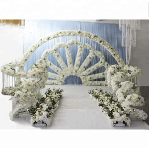 ida wedding decorations stage rose flower backdrop for your party