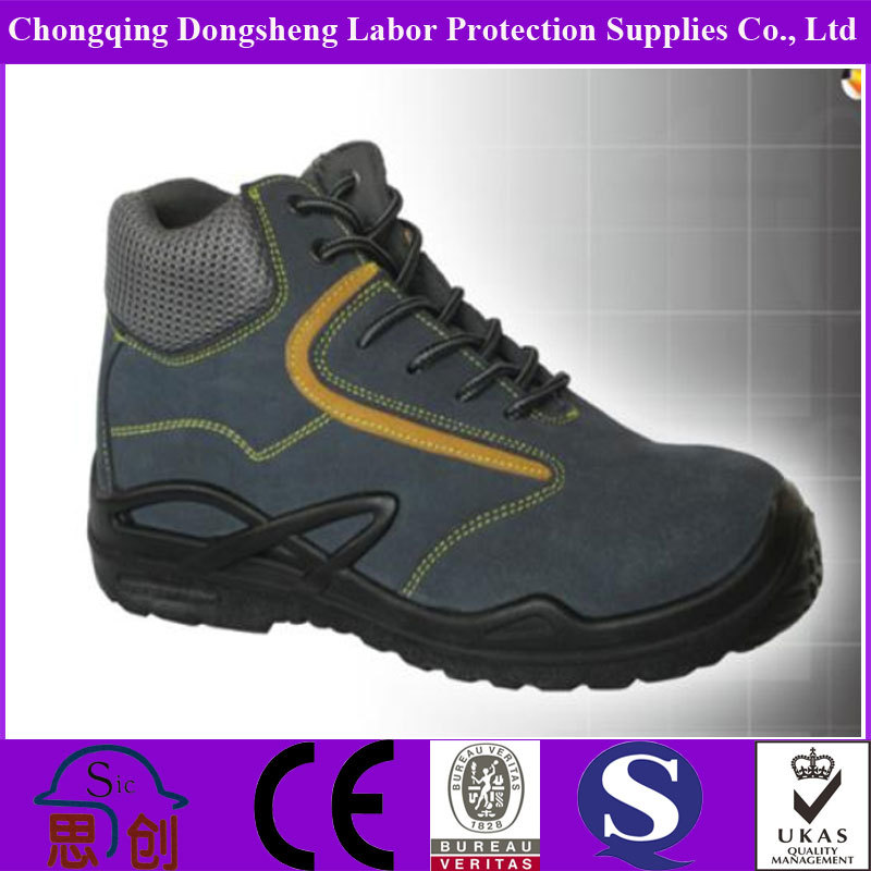 black rubber safety firefighter boot