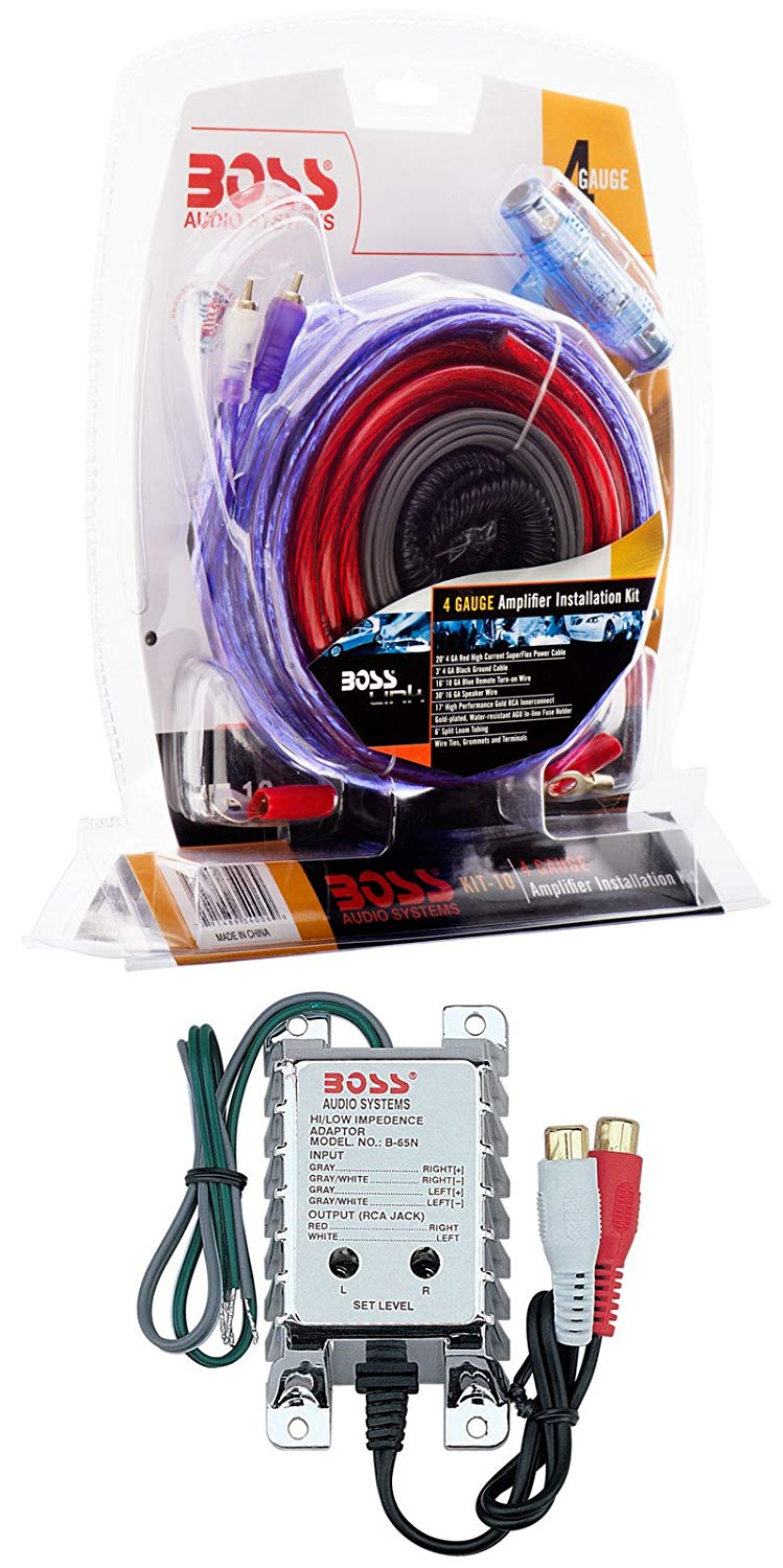 Cheap Car Amp Gauge Find Deals On Line At Alibabacom 2channel Complete Amplifier Kit Vehicle Wire Get Quotations Boss Kit10 4 Wiring Installation Converter