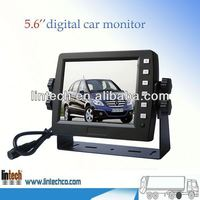 China supplier-5.6 inch digital car pillow tft lcd monitor with sun shade