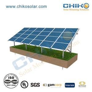 Products supply solar ground mounting solution and solar panel holder for solar racking kit