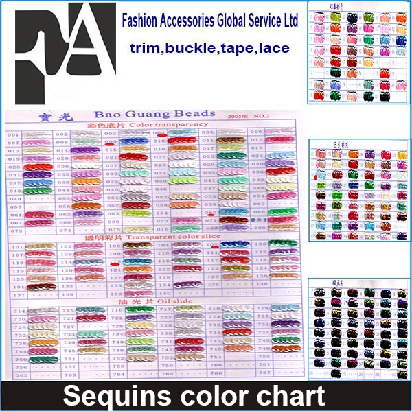 2015 high quality Special Color Limited Qty Round CUP Loose Garment Sewing on Sequins color chart in Strung Rolls (SEQ)