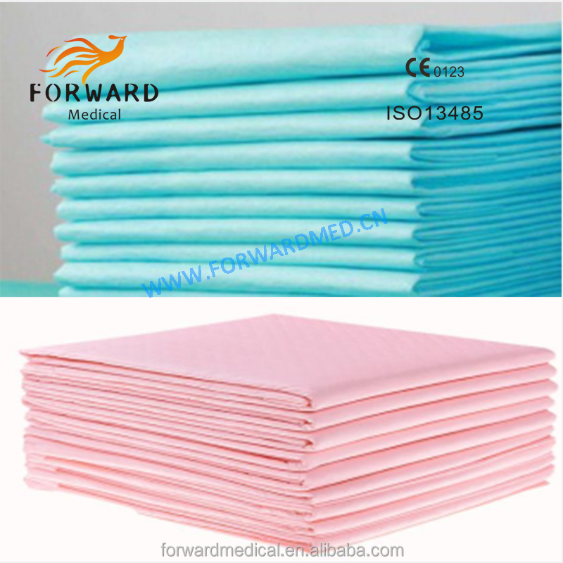 disposable medical product 60x90 high absorbent medical underpads for incontinence