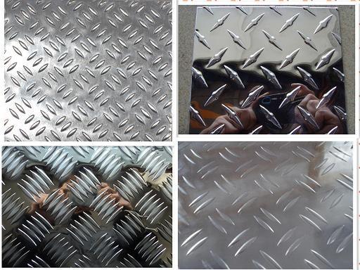 Aluminum Tread Plates 5 Bar 6061 1060 1100 3003 5052 5083 Diamond ...