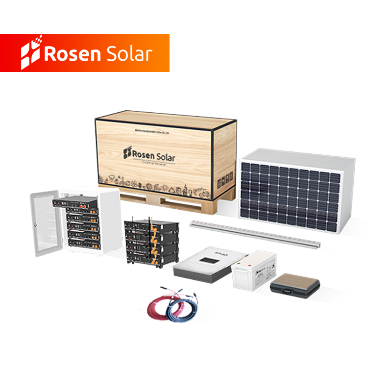 Hybrid On Grid Off Grid 10Kw 50Kw 100Kw Solar Energy Systems For Commercial Power System