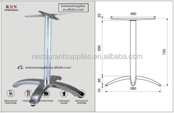 kreuzform edelstahl sockel tischgestelle tischbeine metall, Esstisch ideennn